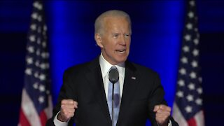 President-elect Joe Biden delivers first speech since presidential election called
