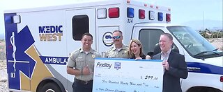 Vegas Stronger Champions: Medics save dog