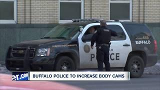 Buffalo Police to increase body cameras