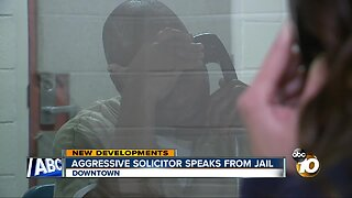 Aggressive solicitor tells 10News video doesn't tell whole story