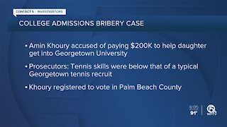 Part-time Palm Beach resident charged in college admissions bribery scandal