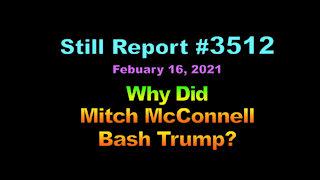 Why Did Mitch McConnell Bash Trump?, 3512