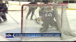 Hockey tournament at Ice World