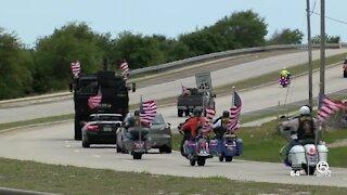 Honor Flight parade held for South Florida veterans
