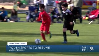 Field closures may delay return of youth sports