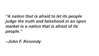 A Nation That Is Afraid Of Its People