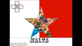 Bandeiras e fotos dos países do mundo: Malta [Frases e Poemas]