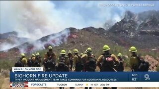Crews continue to battle two brush fires