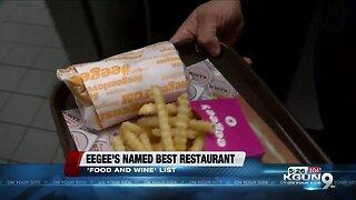 "Food & Wine Magazine names Eegee's the ""Best Fast Food in Arizona"""