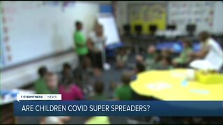 Are students super spreaders of COVID?