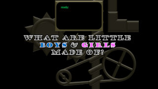 Little Boys & Girls nursery rhyme