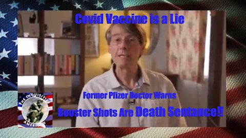 ▌▌Former Pfizer Doctor Warns Booster Shot is Deadly ▌▌