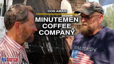 Don Aman, founder and CEO of Minutemen Coffee, at Red Pill Festival 2021