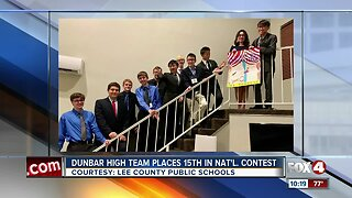 Dunbar High School students rock national math competition