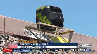 Mystery surrounding living room furniture by the 215 beltway