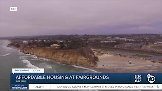 Possible affordable housing at Del Mar Fairgrounds
