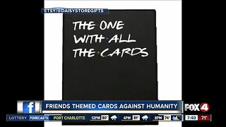 """Friends-themed """"Cards Against Humanity"""""""