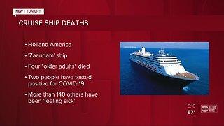 4 dead in Holland America cruise ship