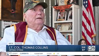 Valley Vietnam veteran takes honor flight