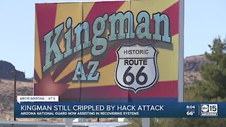 Kingman still having issues after cyber attack