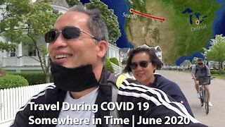 COVID Travel June 2020   Mackinac Island, Michigan