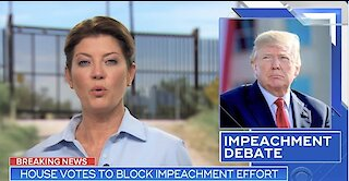 House votes against impeaching Trump