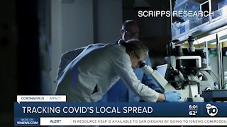 Tracking COVID-19's spread in San Diego