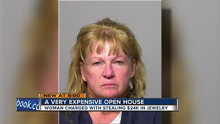 California woman charged with Glendale open house jewelry theft