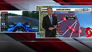 5pm Hurricane Dorian update - 9/1/19