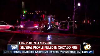 Several people killed in apartment fire in Chicago