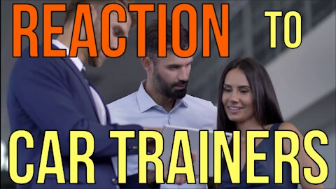 CAR BUYERS MUST KNOW WHAT CAR TRAINERS TEACH AT DEALERSHIPS (Reaction) Kevin Hunter The Homework Guy