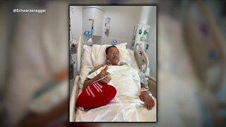 Arnold Schwarzenegger thanks Cleveland Clinic doctors, strolls through city following heart surgery