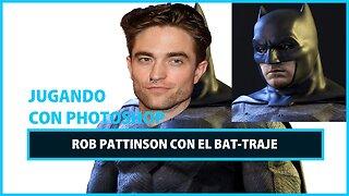 Transformación con Photoshop: Robert Pattinson como Batman