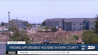 Finding affordable housing in Kern County