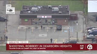 Suspect in critical condition after off-duty police officer stops robbery at Dearborn Heights 7-11