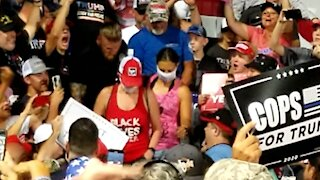 Protesters booted from rally