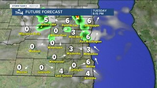 Another hot day, scattered thunderstorms possible
