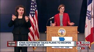 Coronavirus in Iowa - Reopening the State