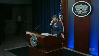 Pentagon Press Secretary Briefs on Military Readiness