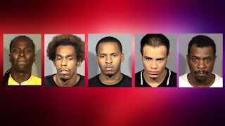 Human trafficking task force arrests 5 during vice operation in Las Vegas