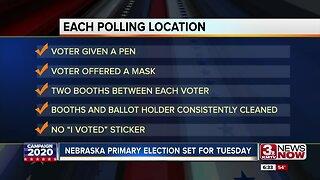 Nebraska primary election set for Tuesday