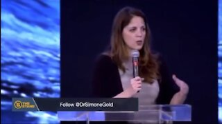 DR. SIMONE GOLD BLOWS THE LID OFF THE COVID LIE