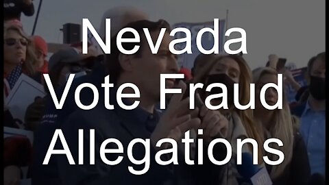 Election Fraud in Nevada: Fake Ballots, Dead People Voted, say pro-Trump Republicans