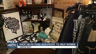 Shop giving back
