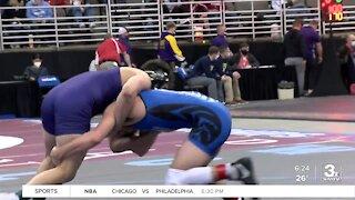 Class B State Wrestling Quarterfinals 2/19/21