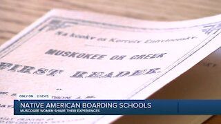 MUSCOGEE WOMEN SHARE THEIR STORIES WITH INDIAN BOARDING SCHOOLS
