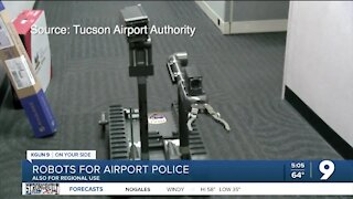 Tucson Airport Police get two public safety robots