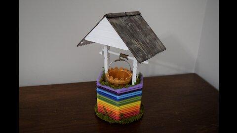 Rainbow Wishing Well Craft