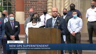 Denver Public Schools board confirms Dr. Alex Marrero as district's next superintendent