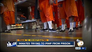 Prison inmates trying to Pimp from Prison